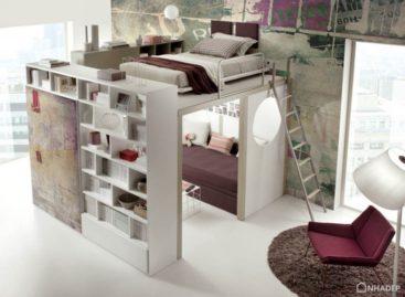 Một số thiết kế giường thông minh giúp tiết kiệm không gian