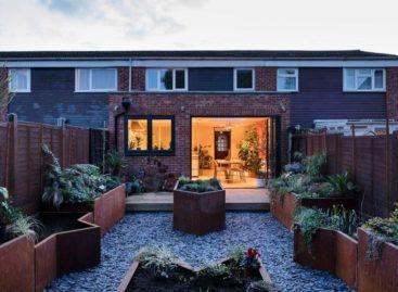 Không gian ấm cúng và hiện đại của ngôi nhà cũ tại Peckham