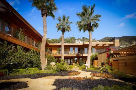 Ghé thăm khách sạn mang phong cách Nhật Bản ở Malibu, California