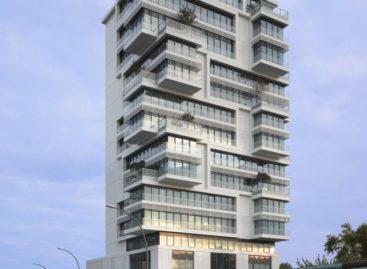 Khám phá tòa nhà chung cư hiện đại bên bờ sông Spree, Đức