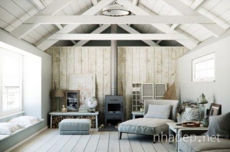 Không gian nội thất gần gũi và ấm áp