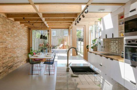 Ngôi nhà được cải tạo bởi Nimtim tại miền Nam London