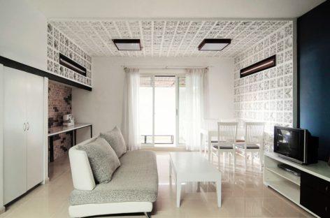 Không gian ấm cúng của một căn hộ chung cư ở Sài Gòn
