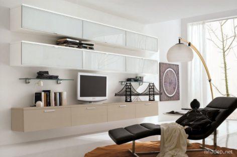 Các mẫu tủ, kệ trang trí cho phòng khách trang nhã (Phần 3)