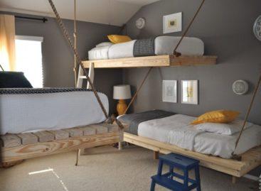 """Những chiếc giường đặc biệt để """"leo"""""""