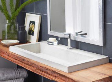 Nét hiện đại và thân thiện với môi trường trong các sản phẩm bồn rửa thủ công
