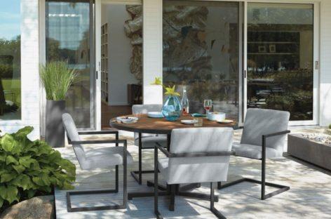 Một số mẫu bàn ghế ngoại thất cho mùa xuân