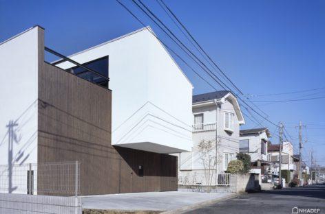 Ngắm nhìn ngôi nhà độc đáo được thiết kế bởi Apollo Architects & Associates