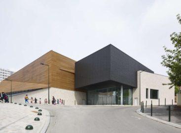 Kiến trúc đẹp mắt của nhà thi đấu Janine Jambu ở Pháp