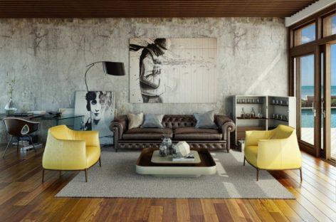Những mẫu thiết kế phòng khách dành cho nhà ở đô thị hiện đại