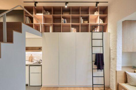 Ngắm nhìn nội thất tiện gọn của căn hộ nhỏ 22m2 tại Đài Loan