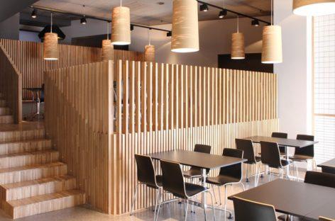Dạo quanh nội thất một nhà hàng ở Bilbao, Tây Ban Nha