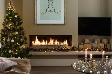 10 phong cách trang trí phòng khách hiện đại cho mùa lễ Giáng Sinh
