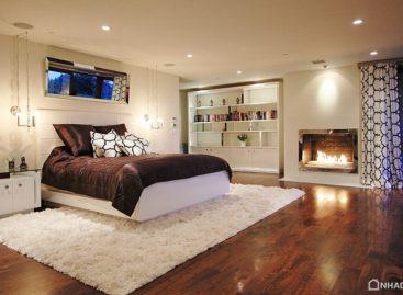 Mẹo thiết kế phòng ngủ ngay trong tầng hầm