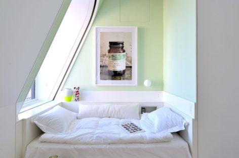10 thiết kế phòng ngủ cho căn hộ tiết kiệm diện tích