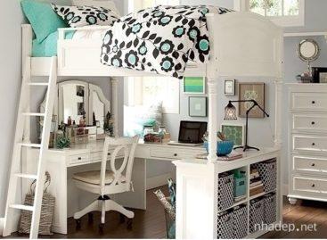 Ý tưởng thiết kế phòng ngủ tuyệt vời dành cho teen girl