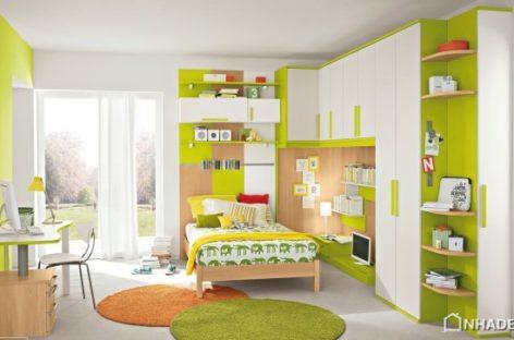Mẫu thiết kế phòng ngủ hiện đại dành cho trẻ em