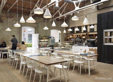 Quán cà phê Cornerstone độc đáo được thiết kế bởi Paul Crofts Studio