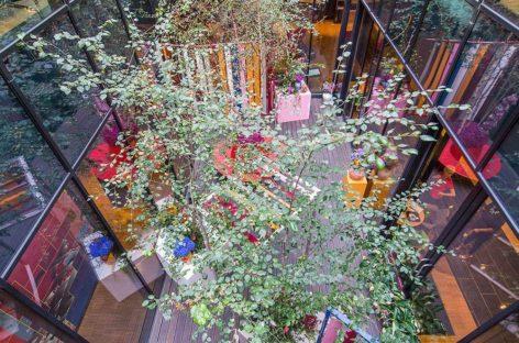 Sáng tạo cho khu vườn bí mật đầy màu sắc của khách sạn CitizenM