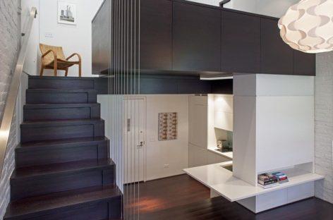 Giải pháp sử dụng không gian hiệu quả của một căn hộ 40m2 ở New York