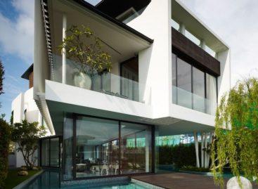 Tham quan ngôi nhà xinh đẹp có cấu trúc tựa một chiếc boomerang