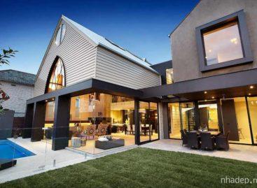Thiết kế đương đại cùng đồ nội thất sang trọng trong căn nhà Hudson St