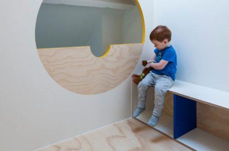 Thiết kế phòng ngủ sáng tạo để trẻ thoả sức vui chơi