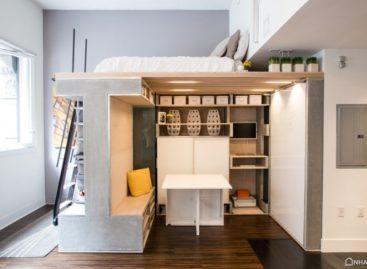 Tiết kiệm diện tích với căn gác đa chức năng cho các căn hộ nhỏ ở San Francisco