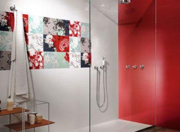 Xu hướng màu sắc tuyệt vời dành cho gạch lát tường phòng tắm