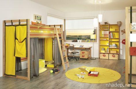 Ý tưởng bài trí nội thất cho phòng trẻ
