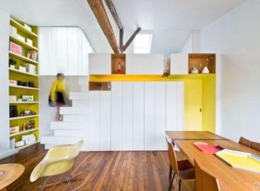 Ý tưởng mới lạ của căn hộ Hike nằm giữa Paris xinh đẹp