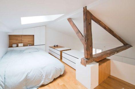 Hike – Ý tưởng mới lạ của căn hộ nằm giữa Paris xinh đẹp