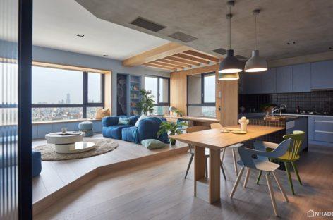Khám phá căn hộ nhiều màu sắc được thiết kế bởi HAO Design