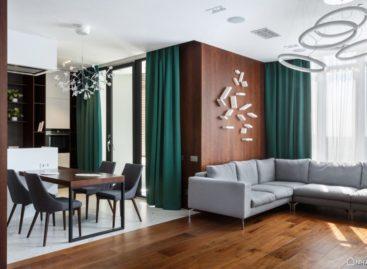Đến thăm căn hộ Over O được thiết kế bởi SVOYA Studio tại Ukraine