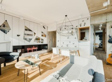Khám phá căn hộ penthouse tràn ngập ánh sáng ở Poznan, Ba Lan