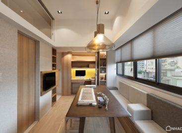 Thiết kế tối giản và thanh lịch của một căn hộ nhỏ ở Đài Bắc