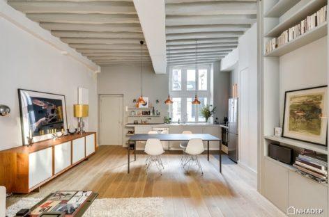 Ngắm nhìn căn hộ cho thuê nhỏ xinh tọa lạc tại thủ đô nước Pháp