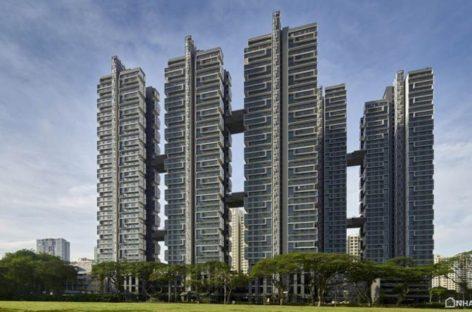 Chung cư xanh Sky Terrace sử dụng năng lượng điện mặt trời tại Singapore