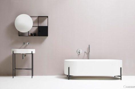 Bộ sưu tập các vật dụng phòng tắm theo phong cách Scandinavian
