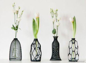Ý tưởng độc đáo cho những chiếc bình hoa được thiết kế từ các chai nhựa cũ