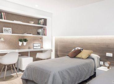 Ngắm nhìn căn hộ sử dụng gam màu trắng tại Tây Ban Nha