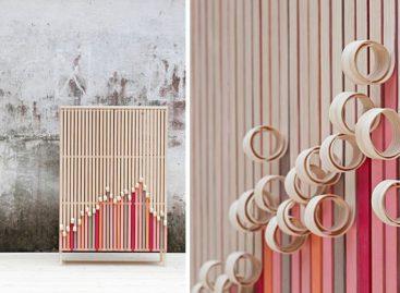 Bộ sưu tập tủ gỗ Whittle Away độc đáo của Stoft Studio