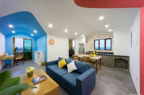 Không gian ấm cúng của căn hộ chung cư mang tên Home