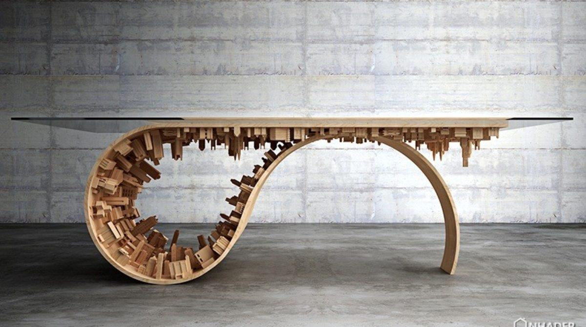 Mở rộng trí tưởng tượng cùng Mousarris với bàn ăn Wave City