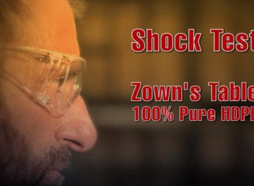 [Video] Bài kiểm tra sốc và tải trọng của sản phẩm Zown