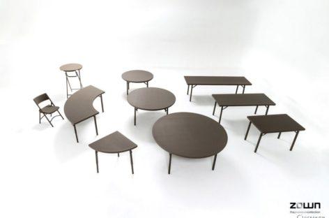 [Video] Khả năng ghép nối linh hoạt của bàn ghế Zown cho các sự kiện thương mại