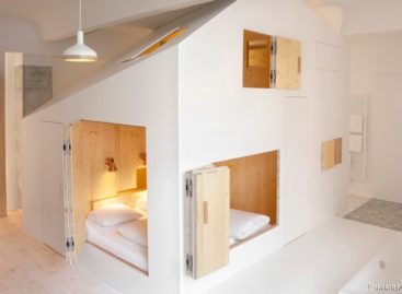 Thiết kế độc đáo của khách sạn Michelberger