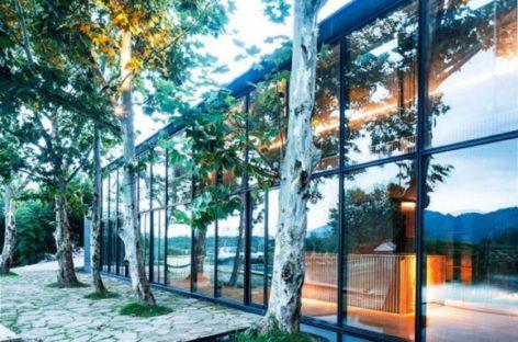 Trà quán thiền Damushan có kiến trúc tinh tế