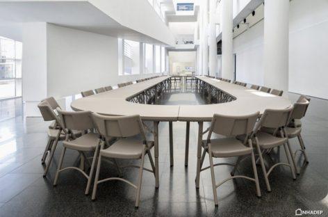 Bàn ghế xếp Zown – Đem đến sự chuyên nghiệp và linh hoạt cho các buổi họp/hội nghị của công ty (Phần 2)
