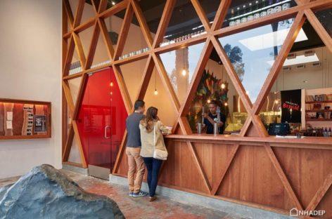 Thiết kế mới lạ của nhà hàng Orenchi Beyond tại San Franscico
